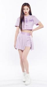 GirlsPlanet(ガルプラ)ジウォンは、チェリーバレットのセンターでかわいい!